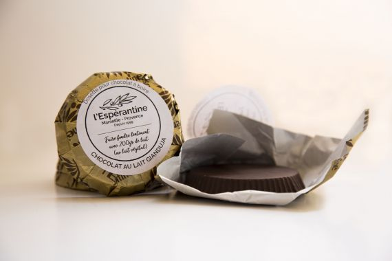 Gianduja chocolate chips