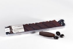 Dark chocolate with almonds and roasted hazelnuts